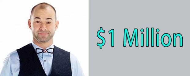 James Murray Net Worth is $ 1 Million