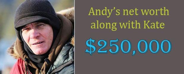 Life below zero Andy Bassich Net worth salary 2018