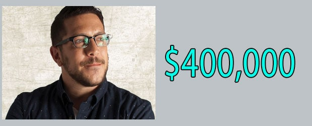 Sal Vulcano Net Worth is $400,000