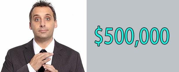 Joe Gatto's Net Worth is $500,000