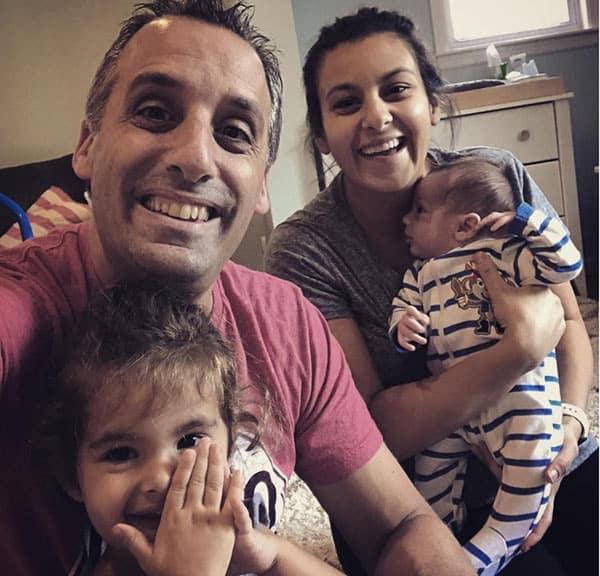 Joe Gatto with Wife Bessy Gattoand Kids