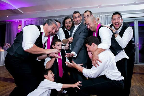 wedding of Joe Gatto