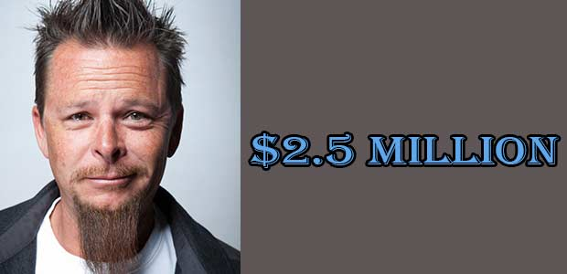 Dave Kindig's Net Worth Till 2018 is $2.5 Million