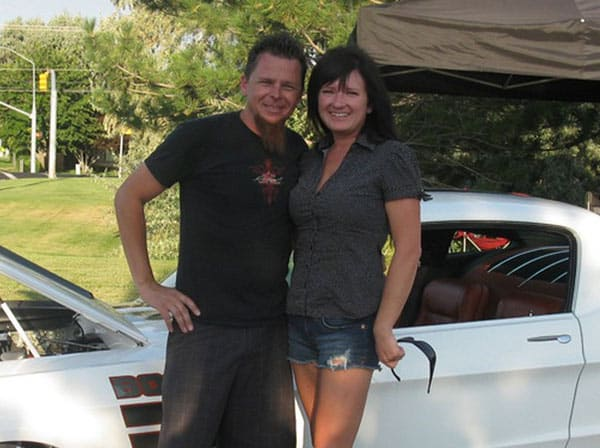Dave Kindig with lovely wife Charity Kindig