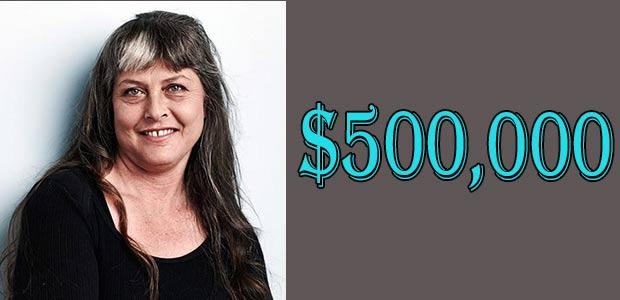 Sue Aikens Net Worth is $500,000