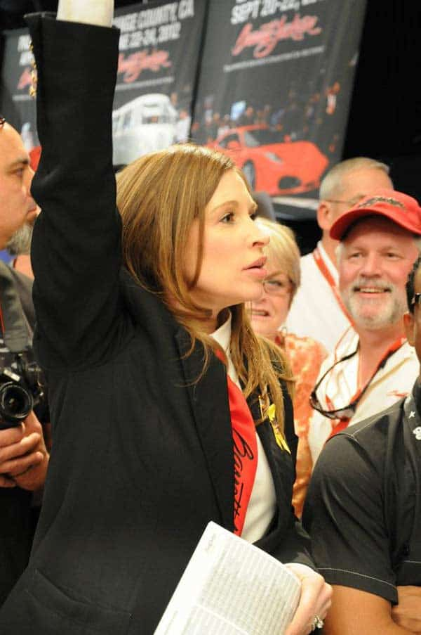 Barrett- Jackson auctioneer Amy Assiter age