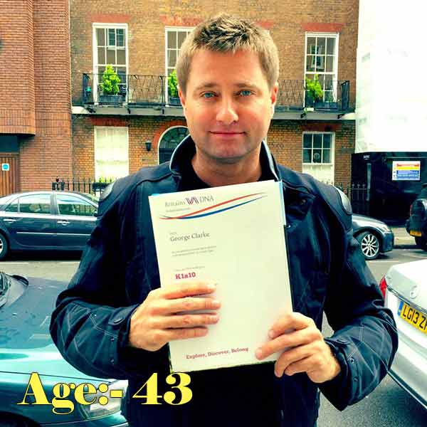 George Clarke Age career birthday birth place