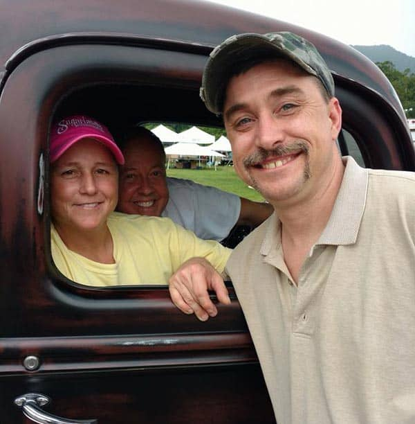 Steve Ray Tickle from Moonshiners is a family man