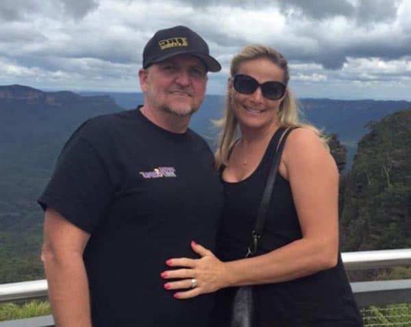 Street Outlaws Jeff Lutz wife Christine Lutz