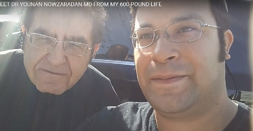 Dr. Nowzaradan and his son