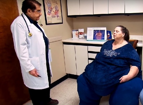 Dr. Nowzaradan with patient