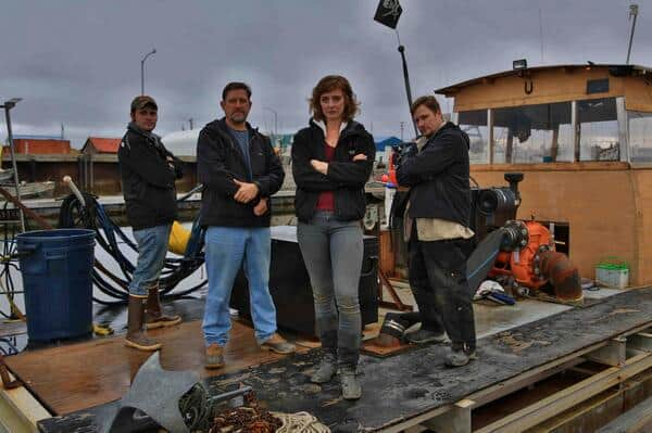 image of Emily Riedel and Bering Sea Gold cast