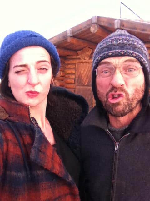 Image of Emily Riedel and her father steven riedel