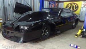 Image of Kye kelly new racing car