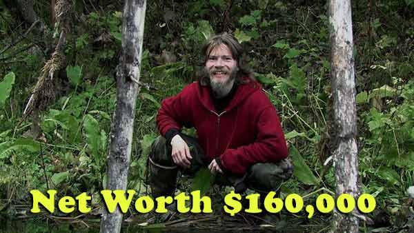 Image of Bear Brown net worth is $160,000