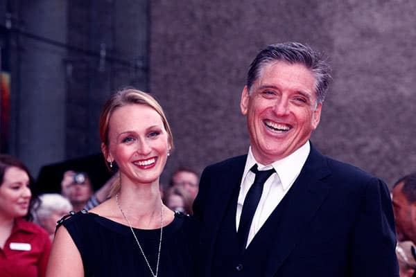 Image of Megan Wallace with her husband Craig Ferguson