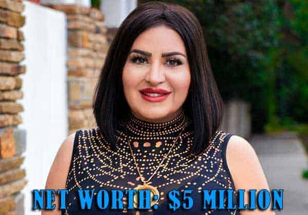 Image of Shahs Of Sunsets Cast Mercedes Javid net worth is $5 million