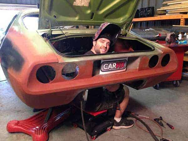 Image of Jared Zimmerman from Car Fix show
