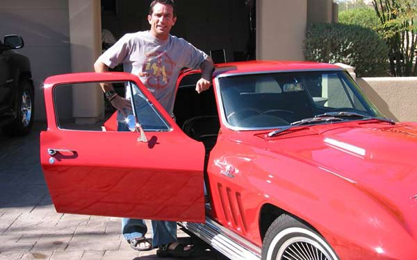 Image of Actor, Jeff Probst car