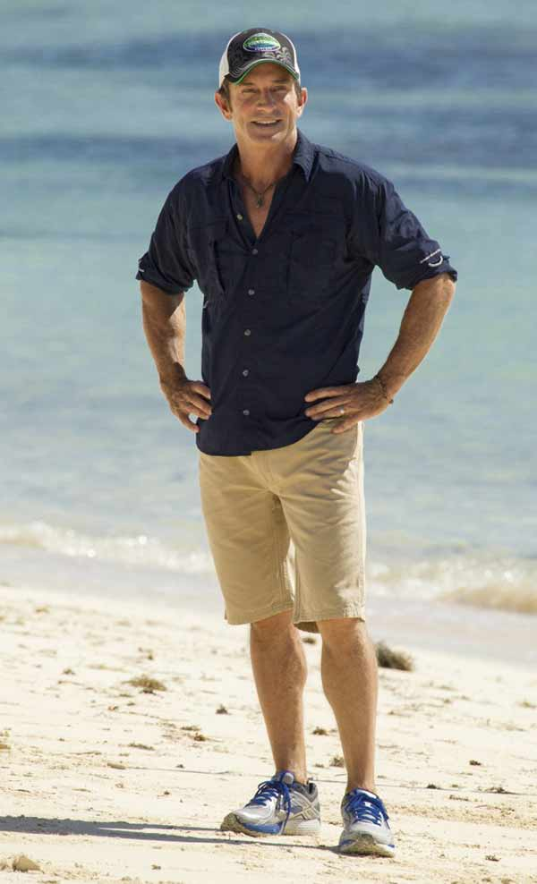 Image of TV Presenter, Jeff Probst height is 5 feet and 10 inches