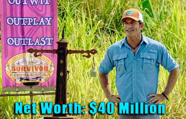 Image of Game Show Host, Jeff Probst net worth is $40 million