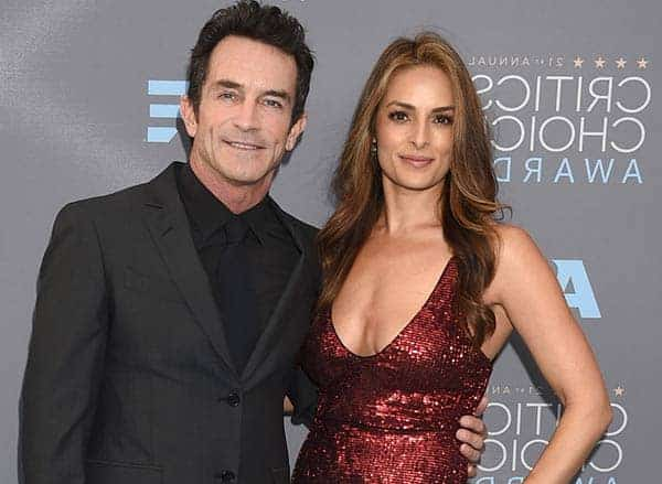 Image of Jeff Probst with his second wife Lisa Ann Russell