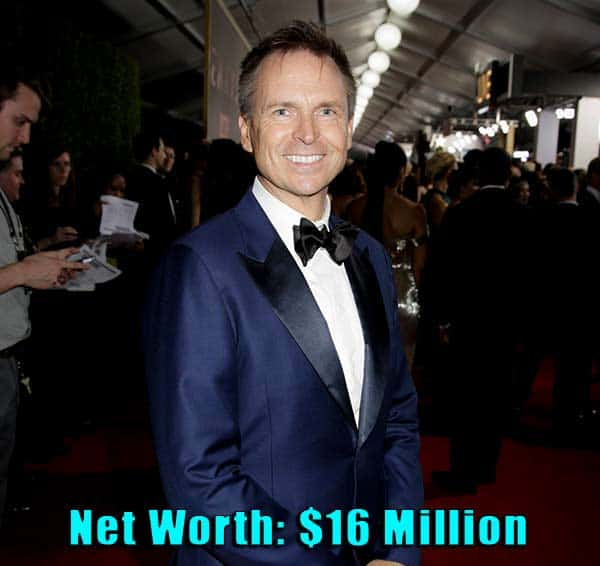 Image of Television Personality, Phil Keoghan net worth is $16 million