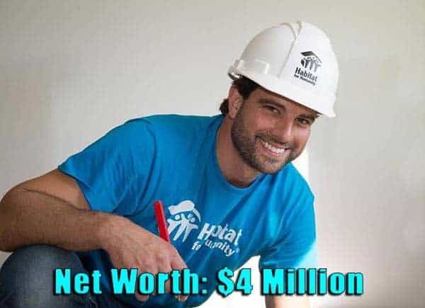 Image of Businessperson, Scott McGillivray net worth is $4 million