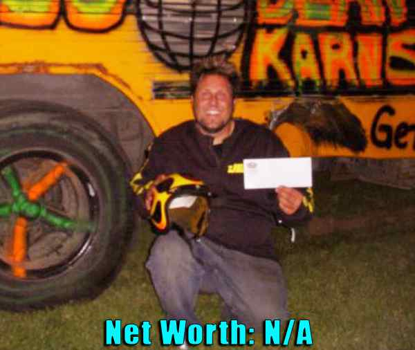 Image of Street Outlaws cast Disco Dean net worth is not available