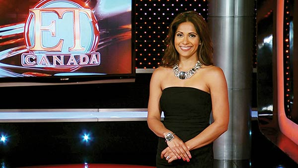 Image of TV Presenter, Sangita Patel E.T Canada as a co-host