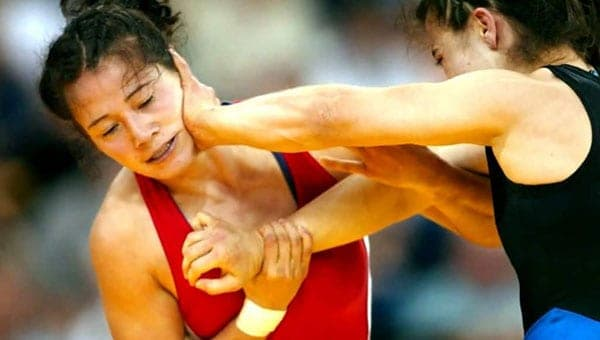 Image of Freestyle Wrestler,Tela O'Donnell