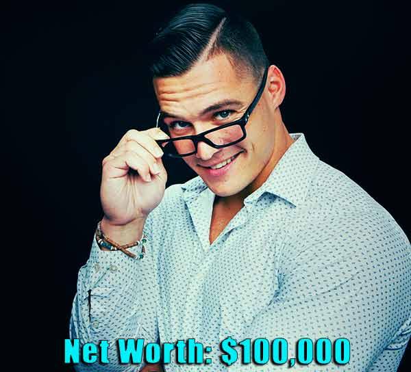 Image of Floribama Shore cast Jeremiah Buoni net worth is $100,000