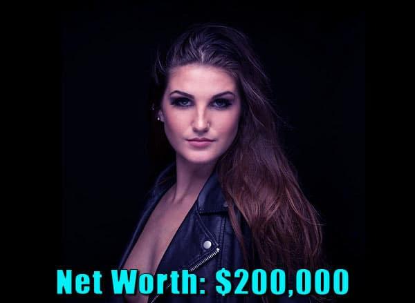 Image of Floribama Shore cast Kortni Gilson net worth is $200,000