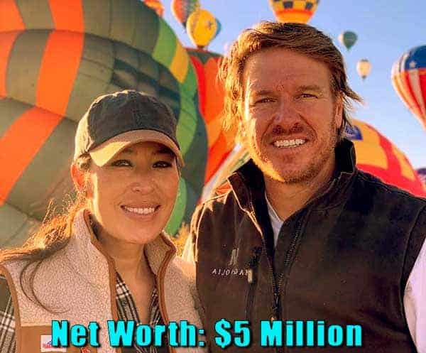 Image of Fixer Upper cast Chip and Joanna net worth is $5 million