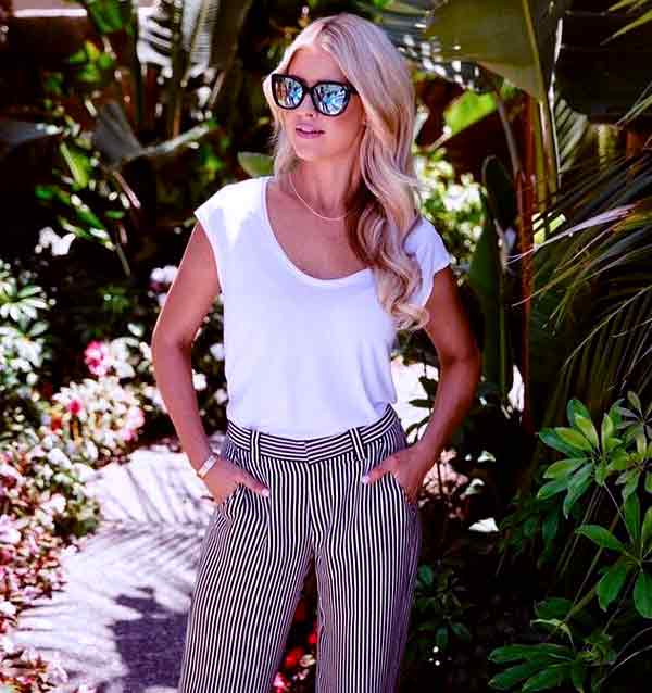 Image of Christina El Moussa height is 5 feet 9 inches