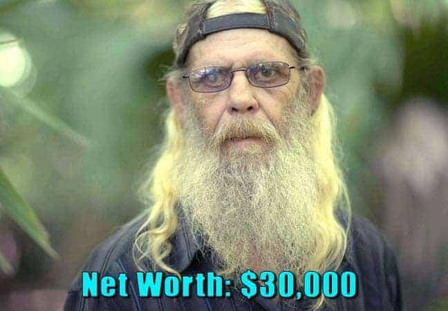 Image of Swamp People cast Glenn Guist net worth is $30,000