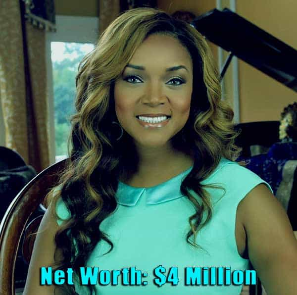Image of Married to Medicine cast Mariah Huq net worth is $4 million