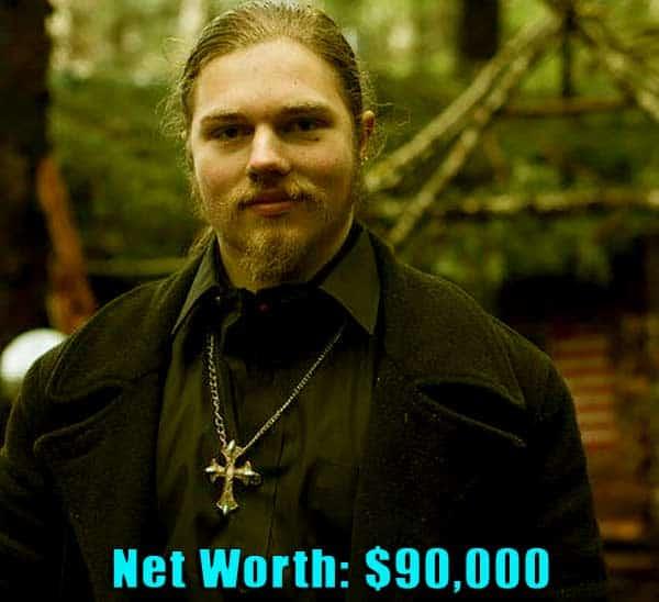 Image of Alaskan Bush People cast Noah Brown net worth is $90,000