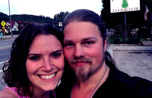 Image of Noah Brown with his wife Rhain Alicia
