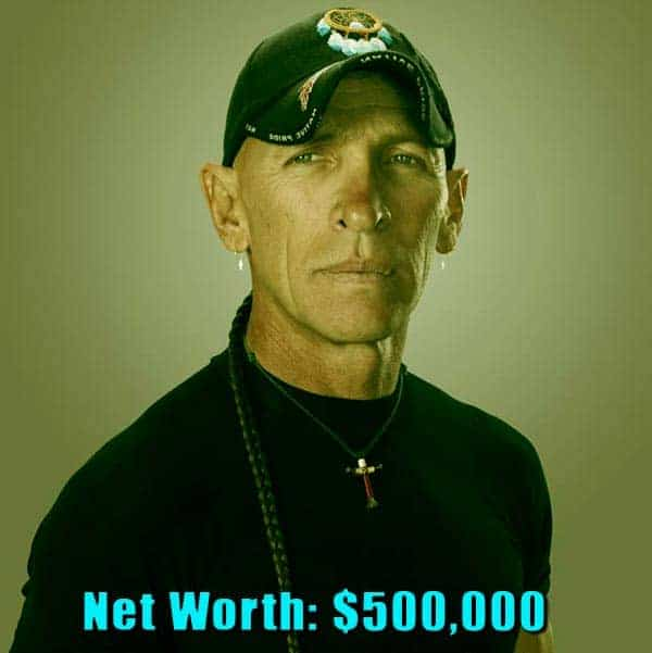 Image of Swamp People cast R.J. Moliner net worth is $500,000