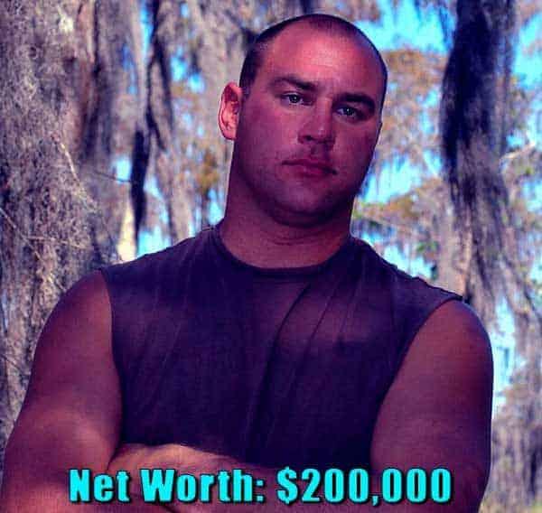 Image of Swamp People cast Ron Methvin net worth is $500,000