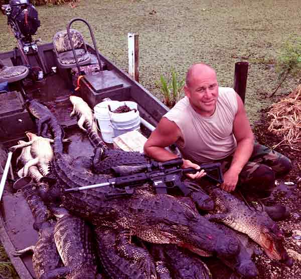 Image of Ron Methvin from Swamp people show