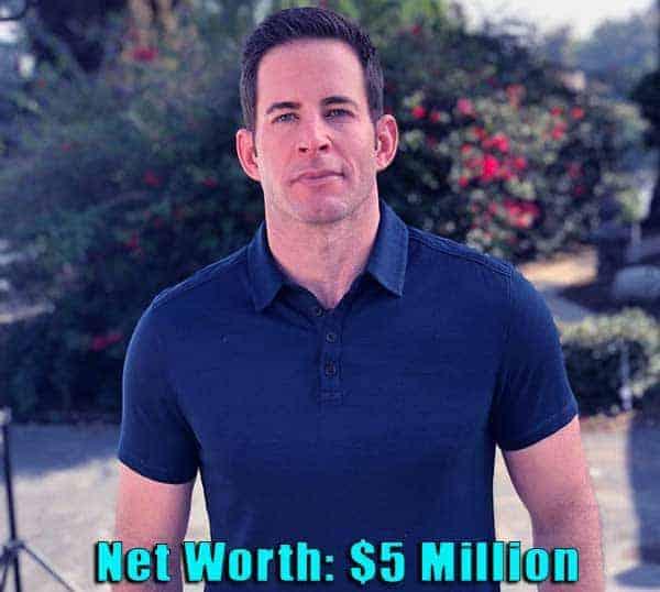 Image of TV Personality, Tarek El Moussa net worth is $5 million