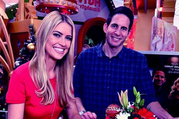 Image of Tarek El Moussa with his ex-wife Christina Meursinge Haack