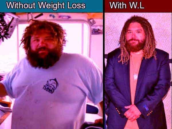 Image of Wicked Tuna cast TJ Ott weight loss