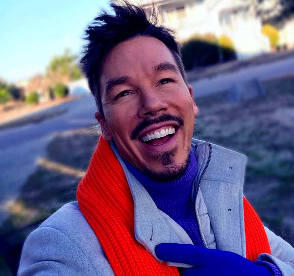 Image of David Bromstad from American TV series My Lottery Dream Home.