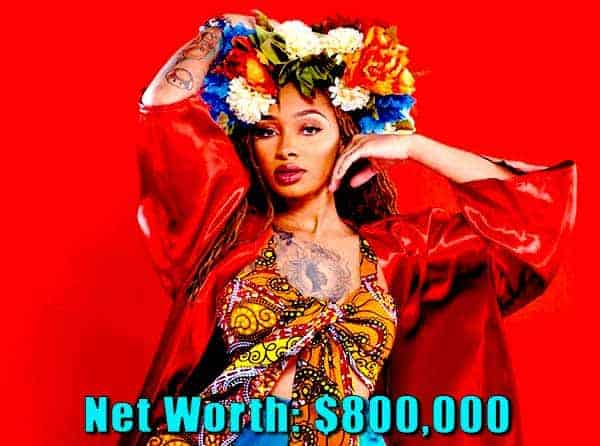 Image of Black ink crew cast Dutchess Lattimore net worth is $800,000