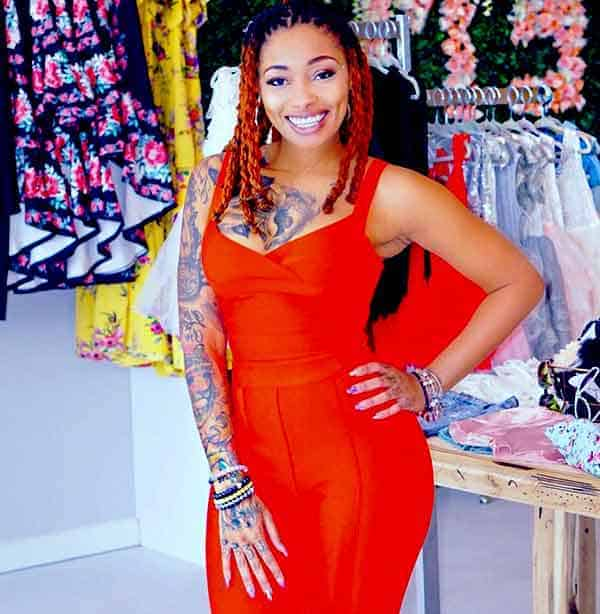 Image of Dutchess Lattimore from Black Ink Crew show