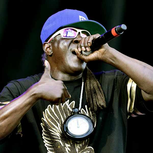 Image of Flavor Flav from Strange Love show