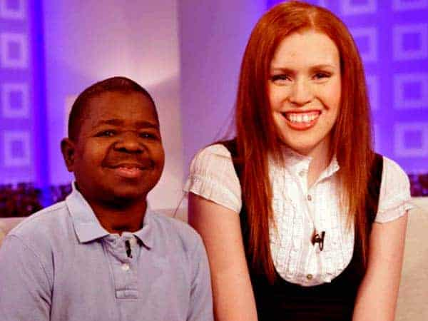 Image of Gary Coleman with his wife Shannon Price